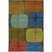 Chandra Kathryn Multi Colored 5 ft. x 7 ft. 6 in. Indoor Area Rug