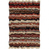 Home Decorators Collection Sahara Fire 3 ft. x 3 ft. Area Rug