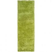 Artistic Weavers Yorba Lime 4 ft. x 10 ft. Runner