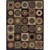 Nourison Parallels Multicolor 7 ft. 9 in. x 10 ft. 10 in. Area Rug