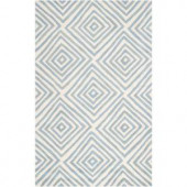 Artistic Weavers Misterio1 Slate Blue 3 ft. 3 in. x 5 ft. 3 in. Area Rug