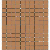 EPOCH Coffeez Cappuccino-1102 Mosiac Recycled Glass Mesh Mounted Floor & Wall Tile - 4 in. x 4 in. Tile Sample