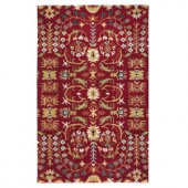 Home Decorators Collection Lumiere Rust 3 ft. x 5 ft. Area Rug