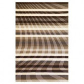 Kas Rugs Let's Move Charcoal 3 ft. 3 in. x 5 ft. 3 in. Area Rug