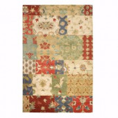 Home Decorators Collection Patchwork Multi 8 ft. x 11 ft. Area Rug