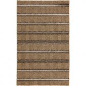 Mohawk Stadium Tan Stripe 1 ft. 6 in. x 2 ft. 6 in. Scatter Accent Rug