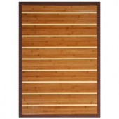 Anji Mountain Premier Brown and Light Brown Striped 2 ft. x 3 ft. Area Rug
