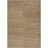 Chandra Natural Ivory/Brown 5 ft. x 7 ft. 6 in. Indoor Area Rug
