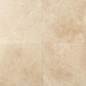 Daltile Travertine Mediterranean Ivory 12 in. x 12 in. Natural Stone Floor and Wall Tile (10 sq. ft. / case)