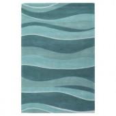 Kas Rugs Water Waves Ocean 2 ft. 3 in. x 3 ft. 9 in. Area Rug