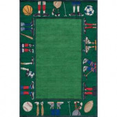 Momeni Caprice Collection Grass 2 ft. x 3 ft. Area Rug