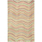 LR Resources Vibrance Multi 5 ft. x 7 ft. 9 in. Plush Indoor Area Rug