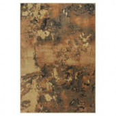 Kas Rugs Abstract View Brown/Black 5 ft. 3 in. x 7 ft. 7 in. Area Rug