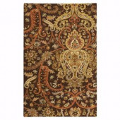 Home Decorators Collection Promanade Brown 2 ft. 3 in. x 3 ft. 9 in. Area Rug