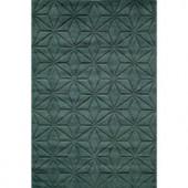 Momeni Red Rock Collection GM-17 BLUE 3 ft. 6 in. x 5 ft. 6 in. Area Rug