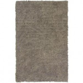 Lanart Palazzo Shag White 3 ft. x 4 ft. 6 in. Area Rug