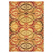 Kas Rugs Tapestry Leaf Jewel 2 ft. 7 in. x 4 ft. 1 in. Area Rug