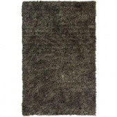 Lanart Palazzo Shag Taupe 3 ft. x 4 ft. 6 in. Area Rug