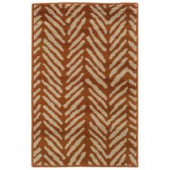 Oriental Weavers Camille Sable Pumpkin 1 ft. 10 in. x 2 ft. 10 in. Scatter Area Rug