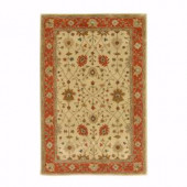 Home Decorators Collection Dijon Gold 4 ft. x 6 ft. Area Rug