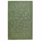 Home Decorators Collection Olympia Sage 9 ft. 9 in. x 13 ft. 9 in. Area Rug