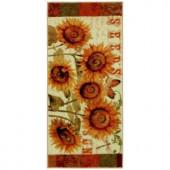 Mohawk Sunshine Seeds Multi 1 ft. 8 in. x 3 ft. 9 in. Kitchen Rug