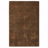 Home Decorators Collection Lancaster Dark Brown 2 ft. x 3 ft. Area Rug