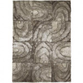 Chandra Flemish Taupe 7 ft. 9 in. x 10 ft. 6 in. Indoor Area Rug