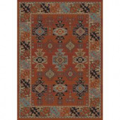 Home Dynamix Classic Red 23.6 in. x 39.3 in. Area Rug