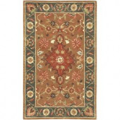 Artistic Weavers Plattsmouth Rust Red 3 ft. 3 in. x 5 ft. 3 in. Area Rug