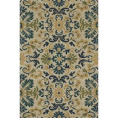 Loloi Rugs Fairfield Life Style Collection Blue Teal 5 ft. x 7 ft. 6 in. Area Rug
