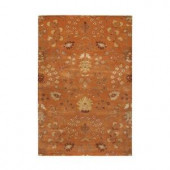 Home Decorators Collection Baroness Orange Spice 2 ft. x 3 ft. Area Rug