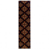 Oriental Weavers Camille Daly Red 1 ft. 10 in. x 7 ft. 6 in. Runner