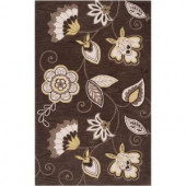 Surya Angelo:HOME Olive Oil 2 ft. x 3 ft. Contemporary Accent Rug