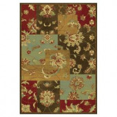 Kas Rugs Artistic Accent Mocha 2 ft. 2 in. x 3 ft. 7 in. Area Rug