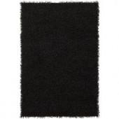 Chandra Zara Black 5 ft. x 7 ft. 6 in. Indoor Area Rug