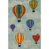 Momeni Caprice Collection Multi 4 ft. x 6 ft. Area Rug