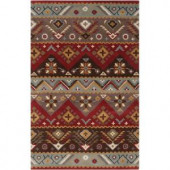 Artistic Weavers Dillon Rust Wool 5 ft. x 7 ft. 9 in. Area Rug