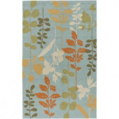 Artistic Weavers Ossipee Pale Blue 3 ft. x 5 ft. Area Rug