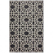 Mohawk Home Suzani Black 2 ft. 6 in. x 3 ft. 10 in. Accent Rug