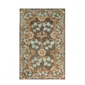 Home Decorators Collection Patrician Dark Grey 2 ft. x 3 ft. Area Rug