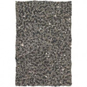 Chandra Stone Grey/Charcoal 5 ft. x 7 ft. 6 in. Indoor Area Rug