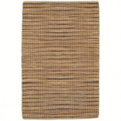 LR Resources Natural Fiber Soho 5 ft. x 7 ft. 9 in. Braided Indoor Area Rug