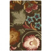 Nourison In Bloom Chocolate 2 ft. 6 in. x 4 ft. Area Rug