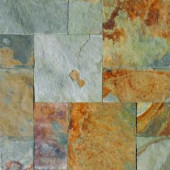 MS International Three Rivers Gold Slate Pattern Natural Gauged Floor and Wall Tile (16 sq. ft./case)