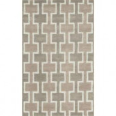 Loloi Rugs Weston Lifestyle Collection Beige 3 ft. 6 in. x 5 ft. 6 in. Area Rug