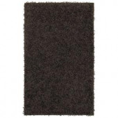 Mohawk Ink Swirl Chocolate Sky 2 ft. 6 in. x 3 ft. 10 in. Area Rug