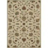 Loloi Rugs Fairfield Life Style Collection Ivory 7 ft. 6 in. x 9 ft. 6 in. Area Rug
