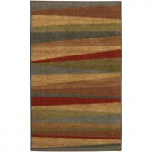 Mohawk Mayan Sunset Sierra 2 ft. 6 in x 3 ft. 10 in. Accent Rug