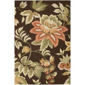 Nourison French Country Chocolate 5 ft. x 7 ft. 6in. Area Rug